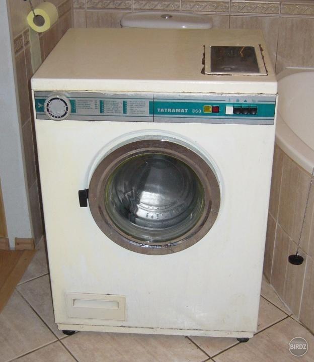 Pračka no a co