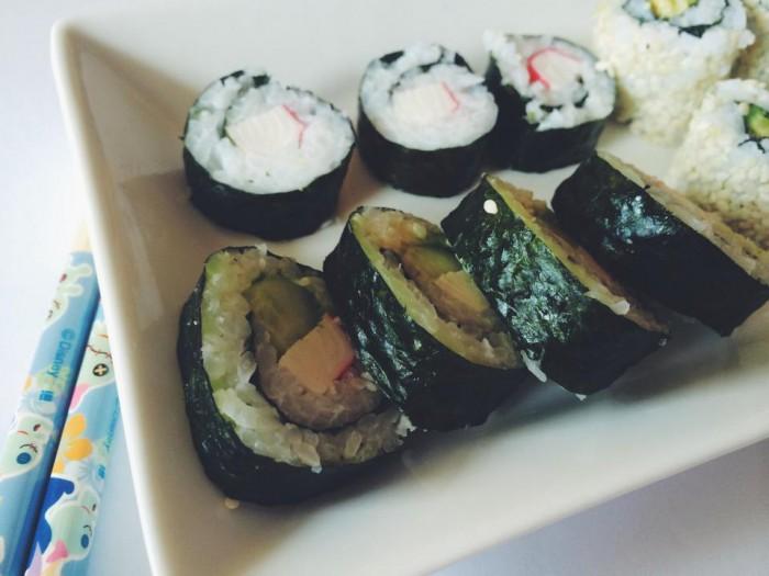Som sa u-sushi-ovala včeradnes ^_^