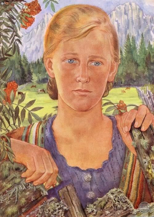 Maľba Wolfganga Willricha (1897-1948)