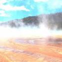 yellowstonesky narodny park