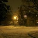 už od detstva ma tento pohľad pri práchode domov strašne upokojoval :) a každé Vianoce naň čakám :) síce teraz o mesiac neskôr, ale predsa!