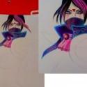 trochu som sa vratila do detskych cias a vytiahla farbicky :D