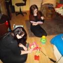 party hard  :D:D:D @ladyofcarnage má 19, tak teda v štýle ako sa patrí :D ale uplna sranda ich pozorovať ako sa tešia s Miškinými hračkami :D:D:D:D