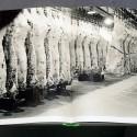 Stanley Kubrick: Racks of meat in cold storage in a meat locker, 1949