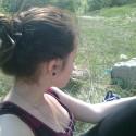 Vetvičky vo vlasoch...spomienka na leto :)a Oko ktoré je teraz nezvestné :)
