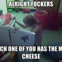 mmmm... cheesburger!