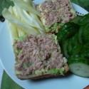 ach a toto bola žranica tiež genialna! :D tekvicová kocka, avokádo, tuniak a zelenina!!! :* :)