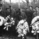 piloti RAF na jeho pohrebe