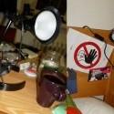 Z takejto retardovanej lampy, na ktorej spom nevedela odšrobovať šrobika by sa tam dala ďalšia tyčka som vymyslela hentakô úžasnô!!!!a hlavica sa dá všade pohybovať!!! háááá som ja ale úžasná! :D
