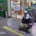 homeless girl. na vrchole blaženosti.