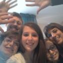 moja talianska rodina posielajúc mi pozdrav:))
