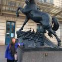 Musee D´Orsay avec le cheval jolie