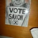 The Master sa bohvieako nepodobá ale konečne som si dokončila svoj predvolebný plagát kde volím Saxona! najsam zloducha ever! :)