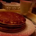 a toto sú klasické pancakes :) síce bez kvásku, ale sú ako obláčiky :) jeden z najlepších receptov :)