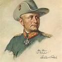 generál Paul von Lettow-Vorbeck,geniálny velitel nemeckej armády v Afrike počas prvej svetovej vojny,po vojne odporca Hitlera a nacizmu