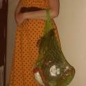 Znovunájdená fotka stratenej pratety Agáty. Prateta nie je tehotná, prateta len ľúbila papať. Mám to po nej.