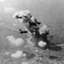 americkí imperialisti bombarduju Bratislavu