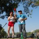 organizátor Rajčobalu, Posvätná Rajčina a Majo Labuda ako moderátor a rozhodca....