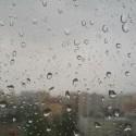 Trošku nám začalo pršať :)