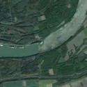 tu som. Dunaj blízo srbsko-maďarských hraníc