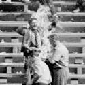 Poliak Ryszard Siwiec ktorý sa upálil na prostest proti okupácii Československa
