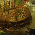 Moja torticqa pre frajera ...orechovo cokoladovo pudingovaa :) som si vymyslela!