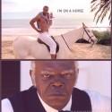 som si prave uvedomil, ze ten fetak na koni vyzera Jak kanye west :o