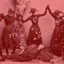 stylizovana fotka ci snímok z čarodejníckeho sabatu?