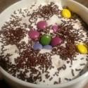 Spravila som si najdoko domace cokolo horuce (lentilky a pruzky ofc neratam).