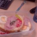 raňajočky v práci :D