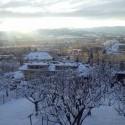 """7652352 fotka zo série """"čože, sneh?!?"""" aneb takto pekne bolo u nás dnes :)"""