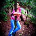 Turisťika v Laurikinom štýle, rozbehni sa dole kopcom a brzdi o stromy :D:D