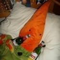 pán mrkva romantično-pivne naštelúvaný bol keď som prišla!