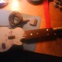 My Homemade Guitar Hero Controller :) (zatial som pracoval na funkcnosti a nie na vzhladu :P )