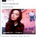 zapnem facebook že čo nové, a tam zrazu v newsfeede @silviaaa