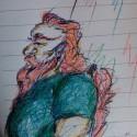 Objavila som jedinu polooukej vec, co som nakreslila od ZS ^^