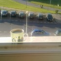Dobré ráno v meste... kiež by som aj z domu mala taký výhľad :) (aj keď tu práve nie je zachytený :D)