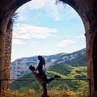 Zase my...armenske vyhlady. WINGS OF TATEV!!