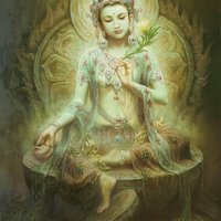 Tara, female buddha of compassion